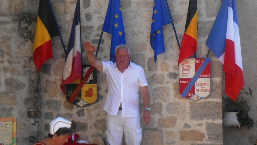Moncrabeau. Pierre Gallio, une tête couronnée de retour au Festival des menteurs - ladepeche.fr