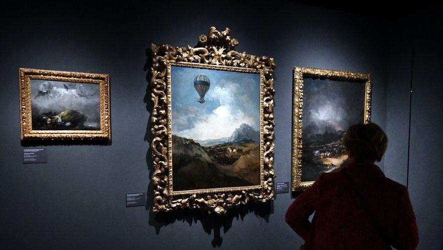 Déjà plus de 5000 visiteurs pour Goya à Agen - ladepeche.fr