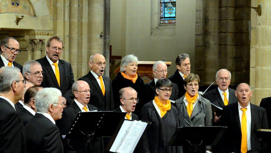 Le Chœur d'hommes du pays d'Albret était au Sacré-Cœur - petitbleu.fr