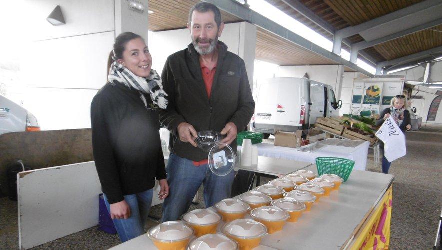 Roquefort. Au marché hebdomadaire : De la soupe à la citrouille au profit de l'AFM-Téléthon - ladepeche.fr