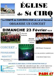 Concert pour le Comité de Cancérologie du 47.