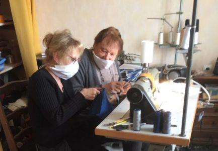 Lot-et-Garonne. Ces petites mains bénévoles qui fabriquent des masques | Le Républicain Lot-et-Garonne