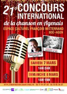 Boé. 21e Concours international de la chanson en Agenais - ladepeche.fr