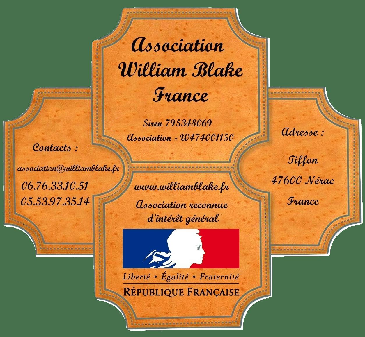 L'art premier s'invite à l'ancienne sous-préfecture de Nérac - William Blake France