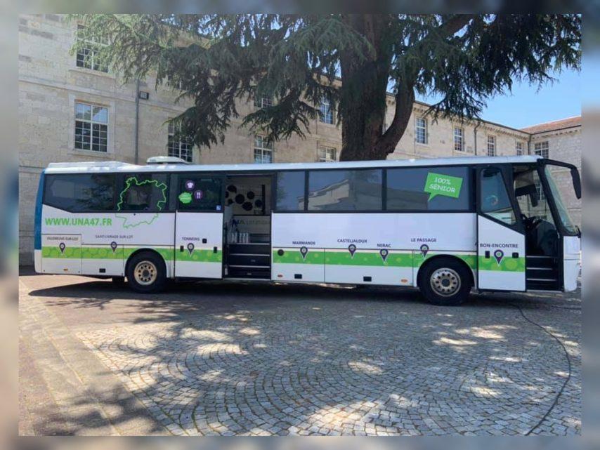 Lot et Garonne. UNA 47 : le bus reprend la route avec des ateliers pour les seniors | Le Républicain Lot-et-Garonne