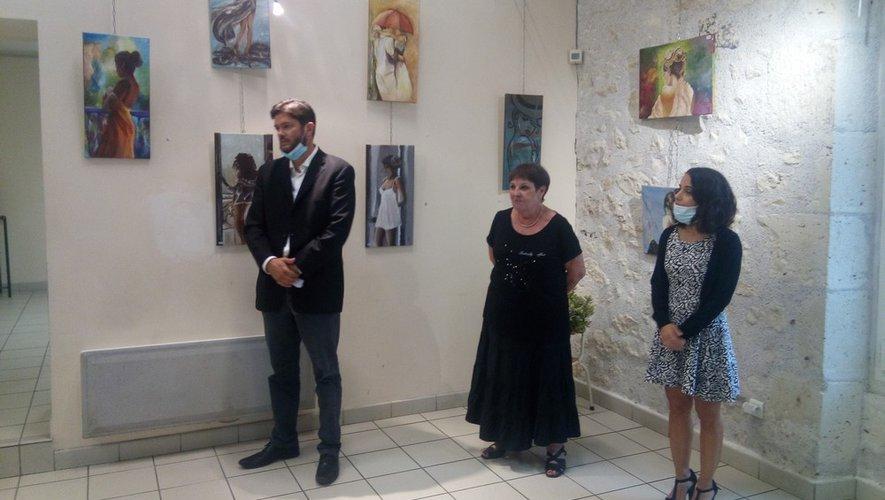 Foulayronnes. Christiane Caval-Lapeyrère dédie son exposition à Josepha