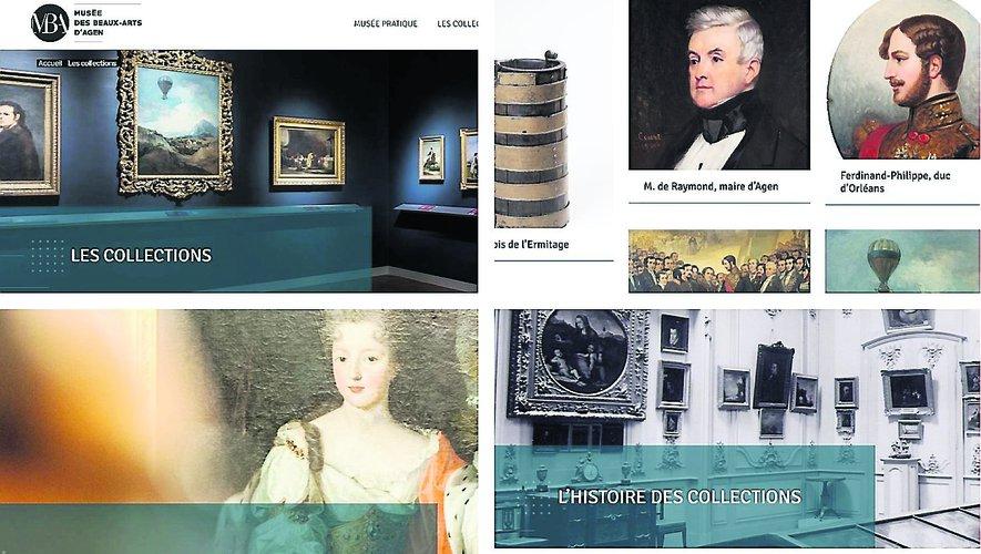 Le musée des Beaux-Arts d'Agen est toujours fermé, mais son site vient d'ouvrir - ladepeche.fr