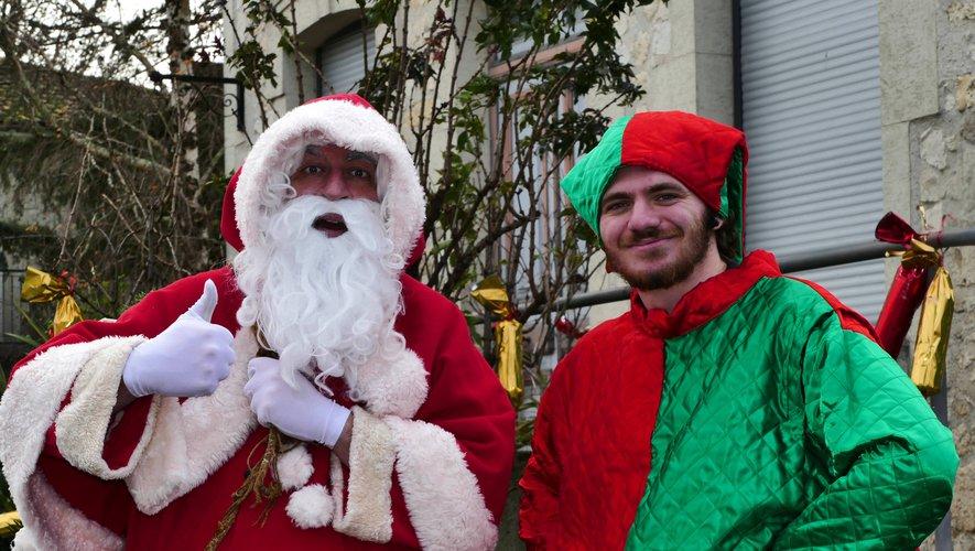 Bon-Encontre. Le Père-Noël de La Dame Blanche chez vous !