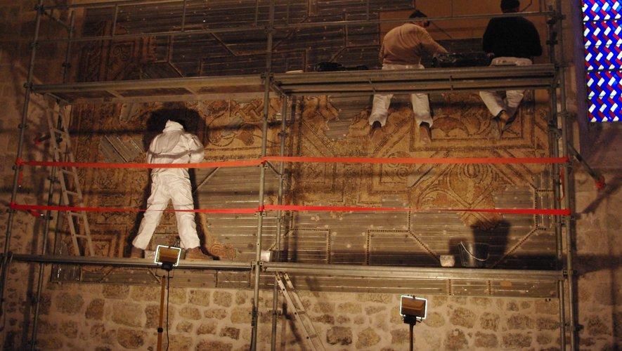 Moncrabeau : les mosaïques de la villa Bapteste à découvrir