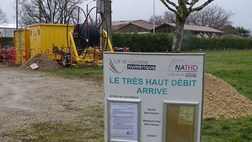 Pujols : le très haut débit arrive sur le plateau de Lacassagne - ladepeche.fr